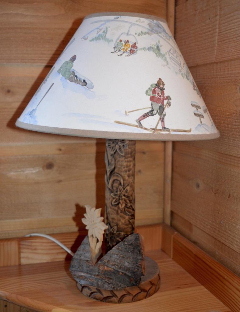 décoration thème ski alpin