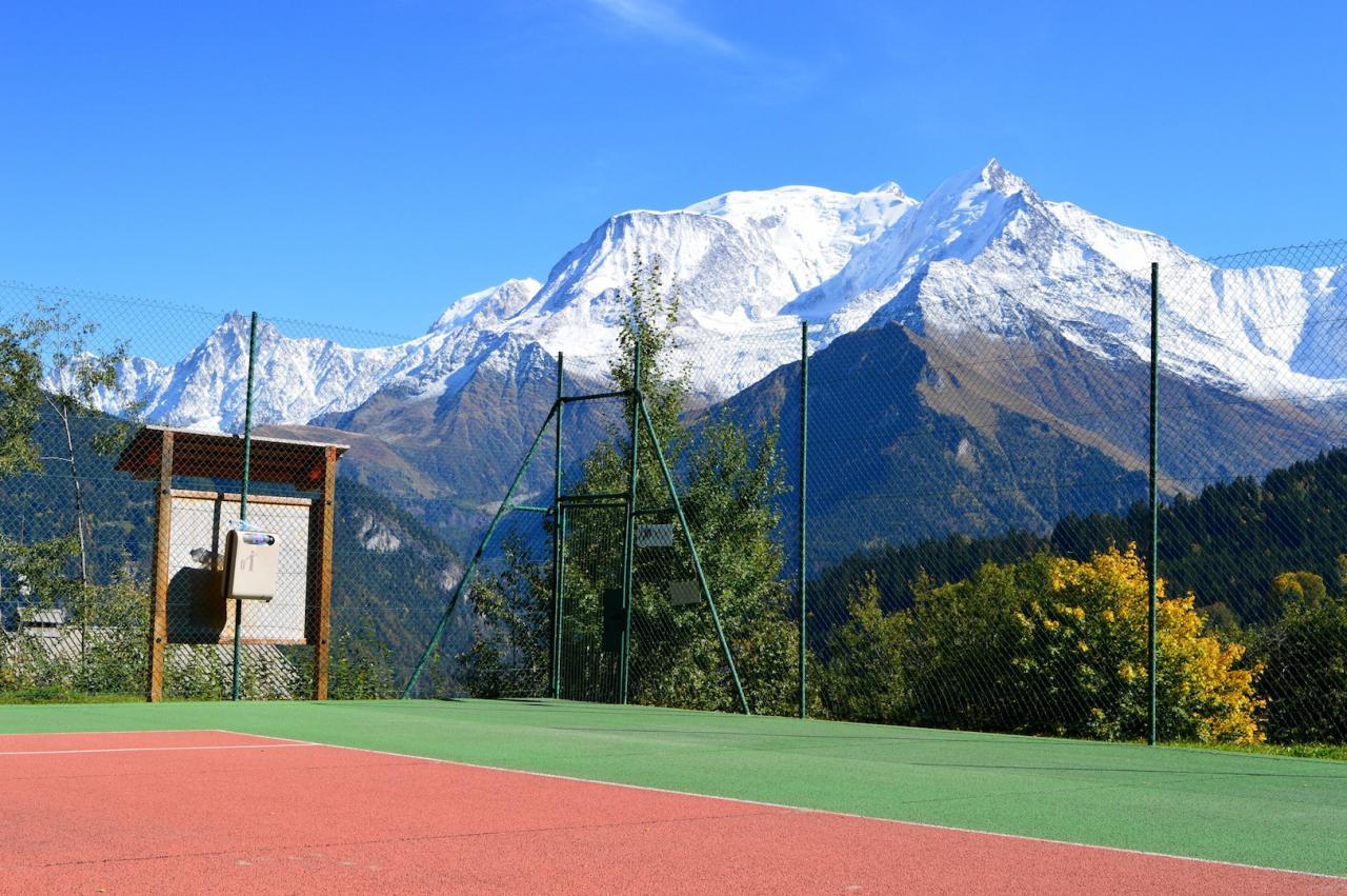 Le terrain de tennis d'accés libre